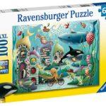 Ravensburger Underwater Wonders Puzzle Da 100 Pezzi Con Pezzi Extra Grandi Per Bambini Dai 6 Anni In Su 0 1