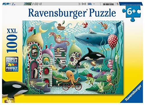 Ravensburger Underwater Wonders Puzzle Da 100 Pezzi Con Pezzi Extra Grandi Per Bambini Dai 6 Anni In Su 0