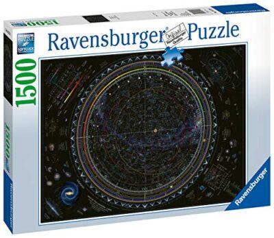 Ravensburger Universo Mappa Stellare Sistema Planetario Stelle Astrologia Puzzle 1500 Pezzi Relax Puzzles Da Adulti Dimensione 80x60 Cm Stampa Di Alta Qualita 0 0