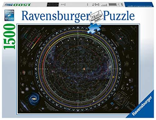 Ravensburger Universo Mappa Stellare Sistema Planetario Stelle Astrologia Puzzle 1500 Pezzi Relax Puzzles Da Adulti Dimensione 80x60 Cm Stampa Di Alta Qualita 0