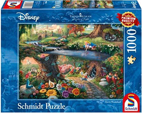 Schmidt Disney Alice In Wonderland Puzzle 10it4001504596361it10 0