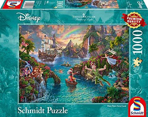 Schmidt Disney Peter Pan Puzzle 10it4001504596354it10 0