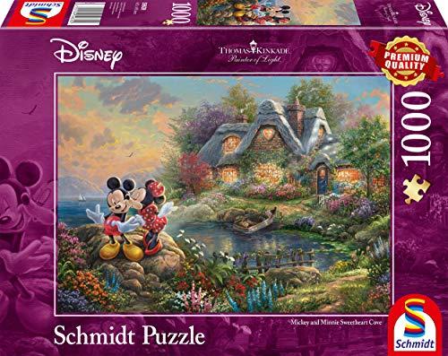 Schmidt Disney Sweethearts Mickey E Minnie Puzzle 10it4001504596392it10 0