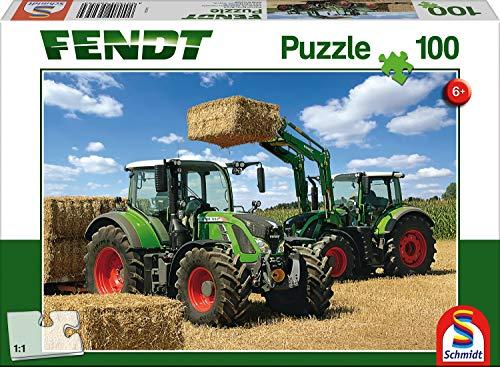 Schmidt Puzzle 724 716 Vario Con Caricatore Frontale Fendt Cargo 4x85 100 Pezzi Colore Meerkleurig 56256 0