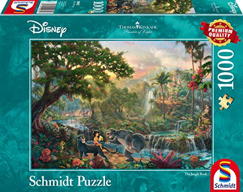 Schmidt Puzzle Il Libro Della Giungla Thomas Kinkade 1000 Pezzi 59473 0