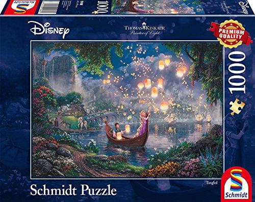 Schmidt Puzzle Raperonzolo Thomas Kinkade 1000 Pezzi 59480 0