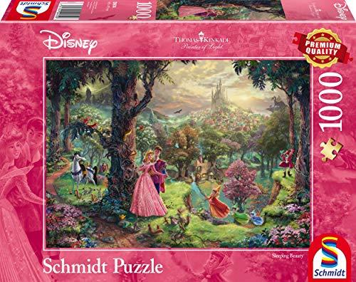 Schmidt Puzzle La Bella Addormentata Thomas Kinkade 1000 Pezzi 59474 0