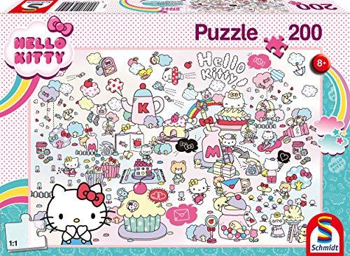 Schmidt Spiele Hello Kitty 200 Pezzi Puzzle Per Bambini Multicolore 56410 0