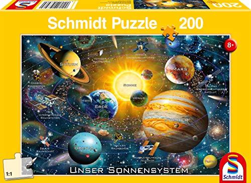 Schmidt Spiele Il Nostro Sistema Solare Puzzle Da 200 Pezzi Per Bambini Multicolore 56308 0