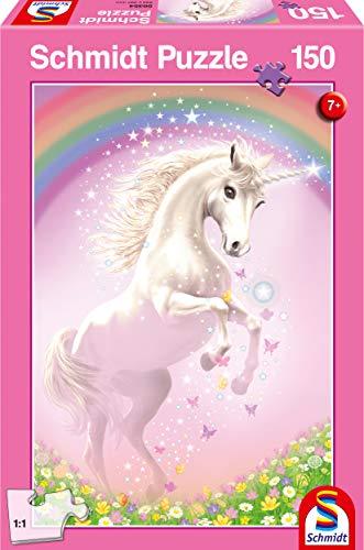 Schmidt Spiele Puzzle Da 150 Pezzi Con Unicorno Rosa Multicolore 56354 0