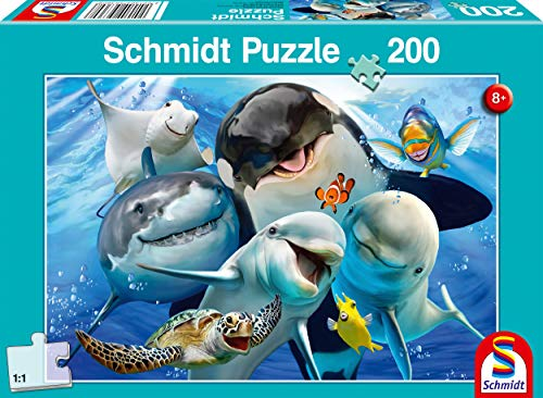 Schmidt Spiele Puzzle Da 200 Pezzi Per Gli Amici Subacquei Multicolore 56360 0