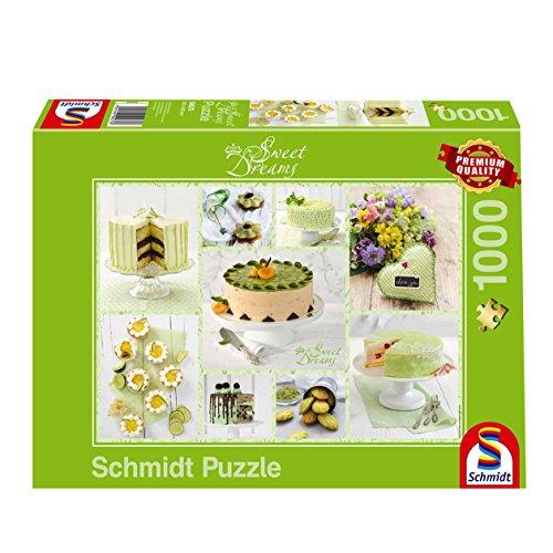 Schmidt Spiele Sweet Dreams Puzzle Da 1000 Pezzi Colore Verde Primaverile 59575 0