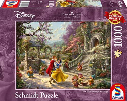 Schmidt Spiele Thomas Kinkade Disney Biancaneve Danza Con Il Principe Puzzle Da 1000 Pezzi Multicolore 59625 0