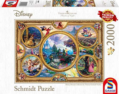 Schmidt Spiele Thomas Kinkade Disney Dreams Collection Puzzle Da 2000 Pezzi Multicolore 59607 0