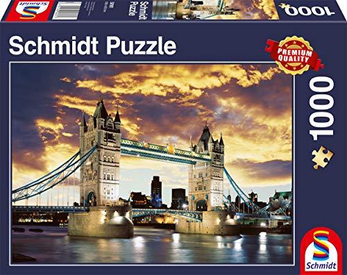 Schmidt Tower Bridge London Puzzle 1000 Pezzi 0