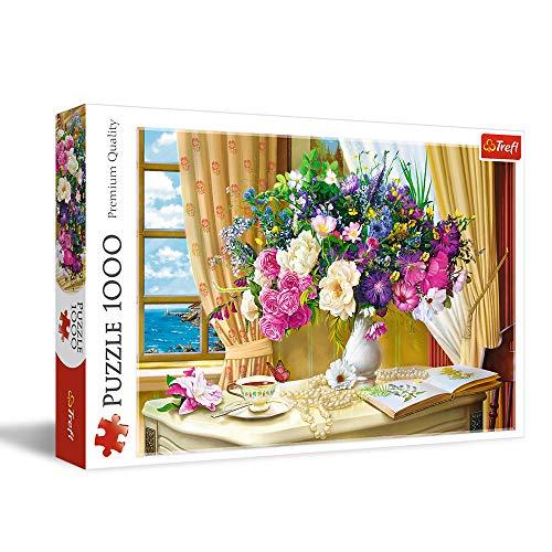 Trefl Blumen Am Morgen 1000 Teile Premium Quality Fur Erwachsene Und Kinder Ab 12 Jahren Puzzle Colori 10526 0