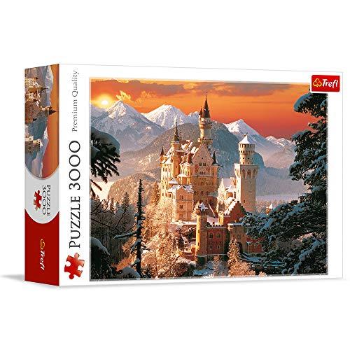 Trefl Puzzle Castello Neuschwanstein Germania Tr33025 0