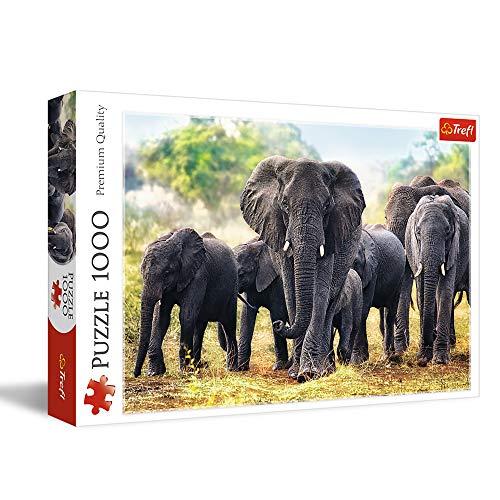 Trefl Puzzle Elefanti Africani Trf10442 0