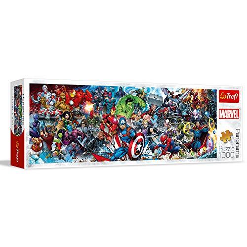 Trefl Puzzles 1000 Panorama Marvel Puzzle Colori 29047 0