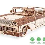 Ugears Dream Cabriolet Modellino Auto In Legno Puzzle 3d Per Adulti Modello Meccanico Rompicapo In Legno Per Adulti Kit Di Costruzione Giocattolo 0
