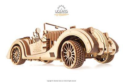 Ugears Vm 01 Roadster Modello Legno 3d Puzzle Modellino Meccanico In Legno 0 0