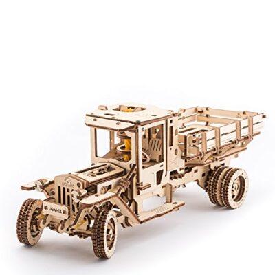 Ugears Ugm 11 Truck Meccanico Modello Autocarro Puzzle 3d In Legno Set Di Costruzione Meccanica 0