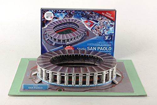 Villamainaeditoria Puzzle 3d Stadio San Paolo Di Napoli 127 Pezzi 0 0