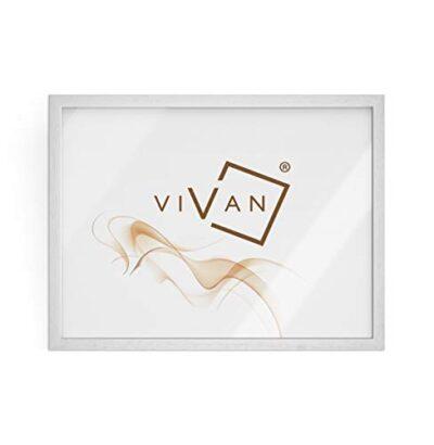 Vivan Riquadro Cornice Legno Bianco Opaco Formato Immagine 50x70 0