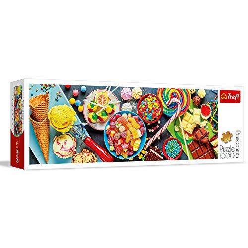 Trefl 29046 Puzzle Panorama Modello Douceurs 1000 Pezzi Multicolore 0