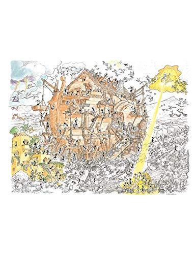 Akena Arco Di Noe Puzzle Fv2461 Multicolore 0