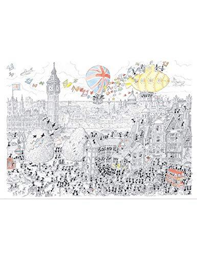 Akena Londres Puzzle Multicolore Fv2420 0