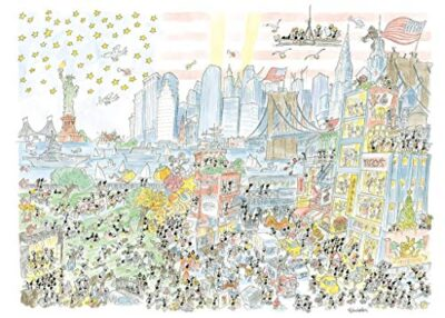 Akena New York Puzzle Multicolore Fv2481 0