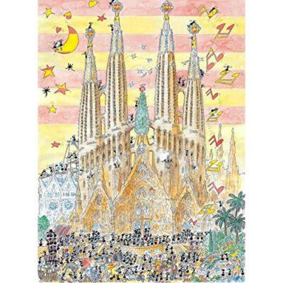 Akena Fv 2448 Sagrada Familia Puzzle 1080 Pezzi 0