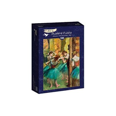 Bluebird Puzzle Degas Dancers Pink And Green 1890 1000 Pezzi 0