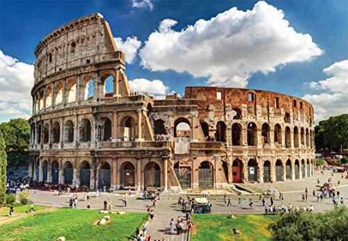 Cheatwell Games Colosseum Jigsaw Puzzle Colosseo Piu Piccolo Del Mondo 1000 Pezzi Colore 13138 0 0