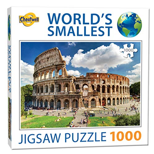 Cheatwell Games Colosseum Jigsaw Puzzle Colosseo Piu Piccolo Del Mondo 1000 Pezzi Colore 13138 0