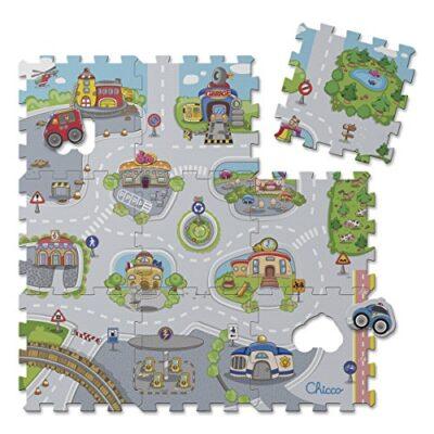 Chicco Citta Tappeto Puzzle Multicolore 0