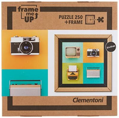 Clementoni 38506 Frame Me Up Vintage Electronics 250 Pezzi Made In Italy Puzzle Adulto Cornice 0