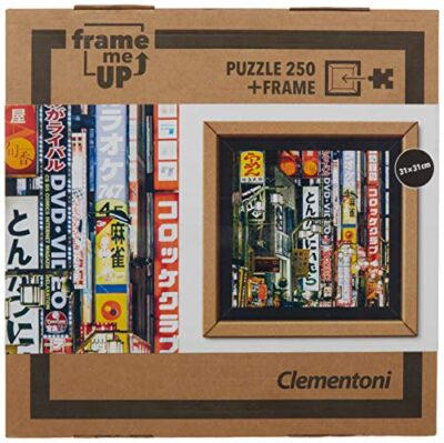 Clementoni 38507 Frame Me Up Tokyo Lights 250 Pezzi Made In Italy Puzzle Adulto Cornice 0