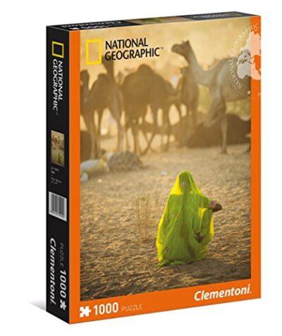 Clementoni 39302 National Geographic Donna Indiana Puzzle 1000 Pezzi Multicolore 806811 0