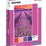 Clementoni Pantone Puzzle Vivid Viola 1000 Pezzi Multicolore 39493 0