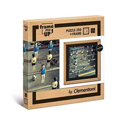 Clementoni Puzzle Frame Me Up Foosball 250 Pezzi Multicolore 38504 0