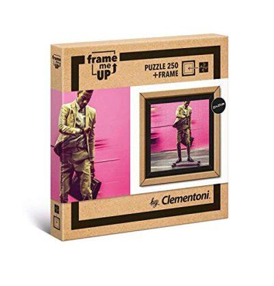 Clementoni Puzzle Frame Me Up Living Faster 250 Pezzi Multicolore 38501 0