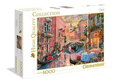 Clementoni Venice Evening Sunset High Quality Collection Puzzle 6000 Pezzi 36524 0