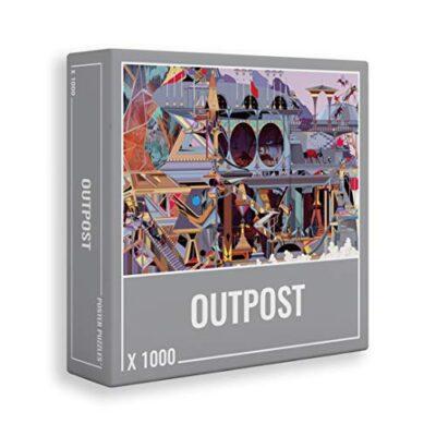 Cloudberries Outpost Puzzle Di Qualita Da 1000 Pezzi Per Adulti Tema Fantascientifico Molto Cool 0