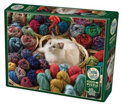 Cobble Hill 1000 Pc Fur Ball Puzzle 1000 Pezzi Colore Various Ch80072 0