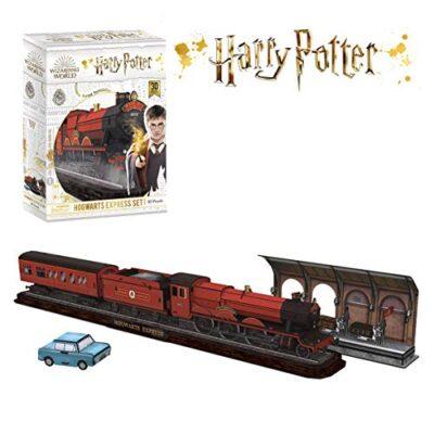 Cubicfun Puzzle 3d Di Harry Potter Hogwarts Express 180 Pezzi Ds1010h 0