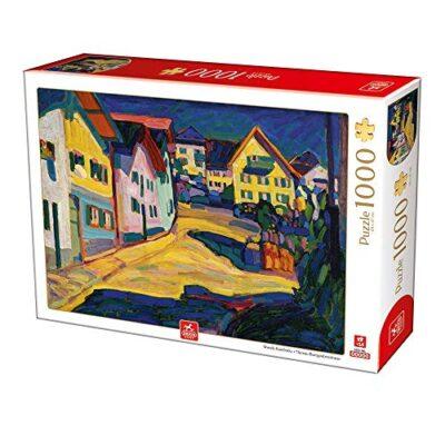 Deico Games 5947502876755 Art Puzzle 1000 Wassily Kandinsky Multicolore 0