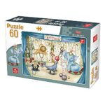 Deico Games Puzzle Pcs 60 Pezzi Circus Animals Multicolore 76489 0