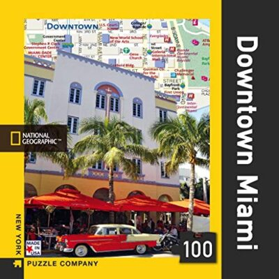 Downtown Miami Mini Nypc National Geographic Collezione Mini Puzzle 100 Pezzi 0